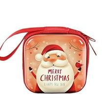Square Zipper Coin Change Bag Pouch Purse Wallet Christmas Gifts TkLando... - $19.80