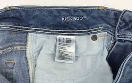 American Eagle Outfitters Super Stretch Kick Boot Denim Blue Jeans Women's 8R image 3
