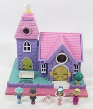 1993 Polly Pocket Wedding Chapel Vintage Lot Bluebird Toys COMPLETE - $75.00