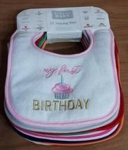 Hudson Baby Holiday Bibs, 12-Pack, Girl Holidays, Soft - $12.82