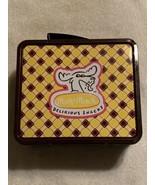 MOOSE MUNCH  DELIRIOUS SNACKS  Metal Lunchbox  8 x 7 x 4  Great conditio... - $6.95