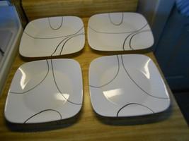 corelle plates simple lines - $18.95