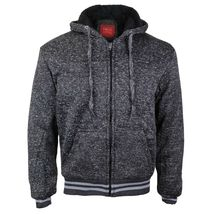 Maximos Men's Athletic Soft Sherpa Lined Fleece Zip Up Hoodie Sweater Jacket image 4
