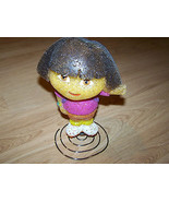 Dora the Explorer Night Light Fixture Doll Shape Base No Chord or Bulb GUC - $12.00