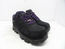 Timberland PRO Women's Powertrain Alloy-Toe Work Shoe A16TF Black/Purple... - £24.46 GBP