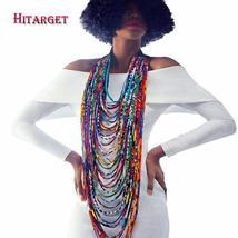 African Ankara Wax Print Choker Necklaces for Women-Multiple Patterns - $39.99