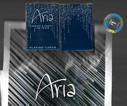 Las Vegas ARIA  CASINO BRAND NEW DECK OF CARDS + REAL TABLE $1.00 CHIP &... - $19.79