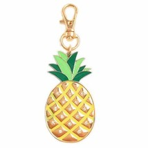 Kockuu Yellow Pineapple Keychain - Bags Charms Gift For Her For Birthday... - $9.84