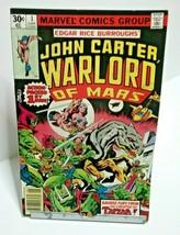 Marvel John Carter Warlord Of Mars #1 Comic June 1977  - £3.20 GBP