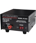 Pyramid PS3KX Fully Regulated 2.5 Amp Power Supply 3 Amp Surge - $50.80