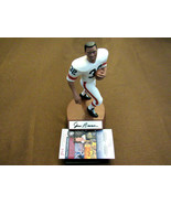 JIM BROWN # 32 CLEV BROWNS HOF SIGNED AUTO LIMITED EDITION SALVINO STATU... - $346.49