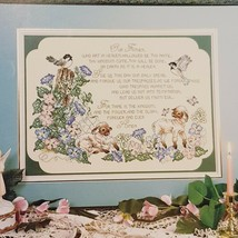 For Thine Is The Kingdom Cross Stitch Leaflet Stoney Creek 1990 Lords Pr... - $18.99