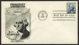 #1283 5c Washington, Fleetwood-Addressed FDC **ANY 4=FREE SHIPPING** - $1.00