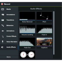 Camtasia Studio Video Editing Screen Recording Software for Mac OS  - $24.99