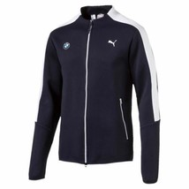 Puma Bmw Motorsport Men's Premium MSP T7 Sweat Jacket Team Navy Blue 57277501