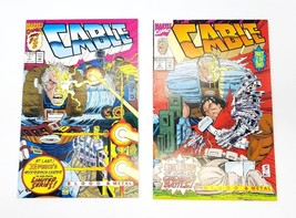 Cable Blood & Metal 1 & 2 Complete Set October 1992 Mini Series Marvel C... - $5.94