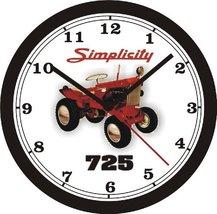 Simplicity 725 Lawn Tractor Wall CLOCK-Free Usa Ship - $25.47