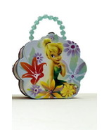 Disney's Tinker Bell Girls Flower Shape Purse Carry All Tin Tote Style C... - $14.46