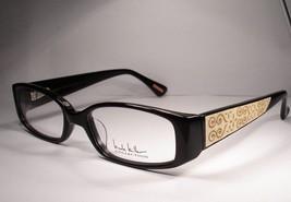 Nicole Miller Le Fleur Black 47 Women Eyeglass Eyewear New Frames - $77.20