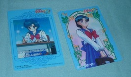 OFFICIAL JAPAN SAILOR MOON VINTAGE REGULAR PLASTIC CEL CARD W  AMY - $7.00