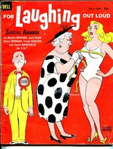 For Laughing Out Loud #16 7/1960-Dell-Mike Berry-wacky cartoons-jokes-Sinatra-VG - $45.40