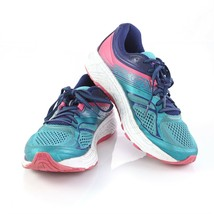 Saucony Guide 10 Womens Running Shoes Athletic Training Size 9 Blue Pink - $64.25