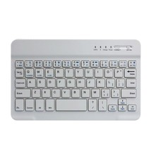 Mini Ultra Slim Aluminum Wireless Bluetooth Keyboard For IOS Android Win... - $356,07 MXN