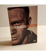 Steve McQueen Giftset -4 Pack (DVD, 2005, 4-Disc Set) Junior Bonner Grea... - $18.00