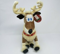 DISNEY MICKEY'S TWICE UPON A CHRISTMAS DONNER REINDEER STUFFED ANIMAL PL... - $36.47