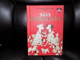 Vintage 1981 Walt Disney 101 Dalmations HC 1st American Edition World of Reading - $11.57