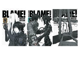 BLAME! Dystopian MANGA Series Collection by Tsutomu Nihei Set of Books 4-6 - $86.99