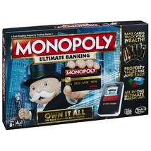 Monopoly Ultimate Banking Board Game 2-4 Players Indoor Game Age 8+ - $182.48