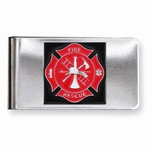 Maltese Cross and the Fire Service Fireman Money clip - $12.19