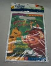 "VINTAGE THE LION KING ""Hakuna Matata"" Birthday Party 8 Treat Bags Sacks NEW - $14.85"