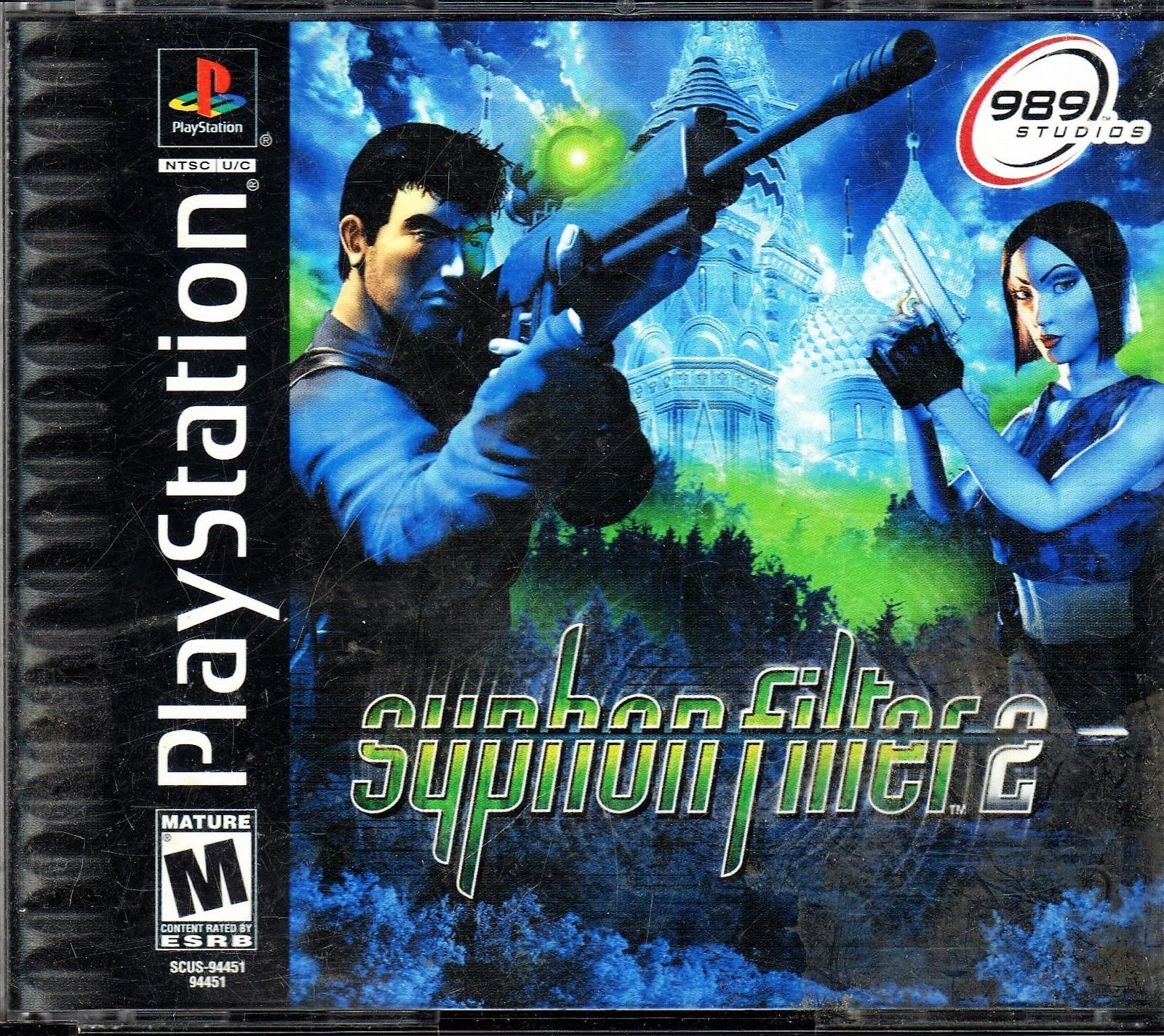Playstation - Syphon Filter 2