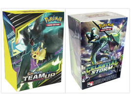 Pokemon Team Up & Celestial Storm Prerelease Kits 2 Build and Battle Boxes - $49.99