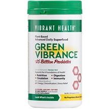 Vibrant Health Green Vibrance, Advanced Daily Superfood + Vegan D3, 30 s... - $46.40