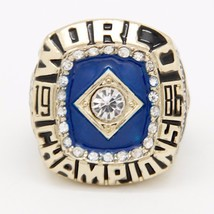 1986 New York Mets Championship Ring In Display Box (Size 11) - $19.95+