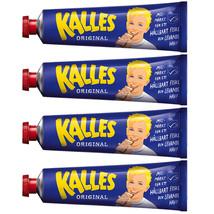 Kalles Kaviar Original Swedish Cod Roe Caviar (4 x 190 gram) Made in Swe... - $45.99