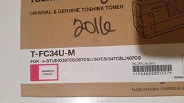 Toshiba TFC34UM (T-FC34U-M) Magenta Toner Cartridge - $130.00