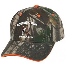 Cap Hat Caps Camo Orange Coonhound Coon Hunter Hound Dog Hunt Treeing Wa... - $12.99