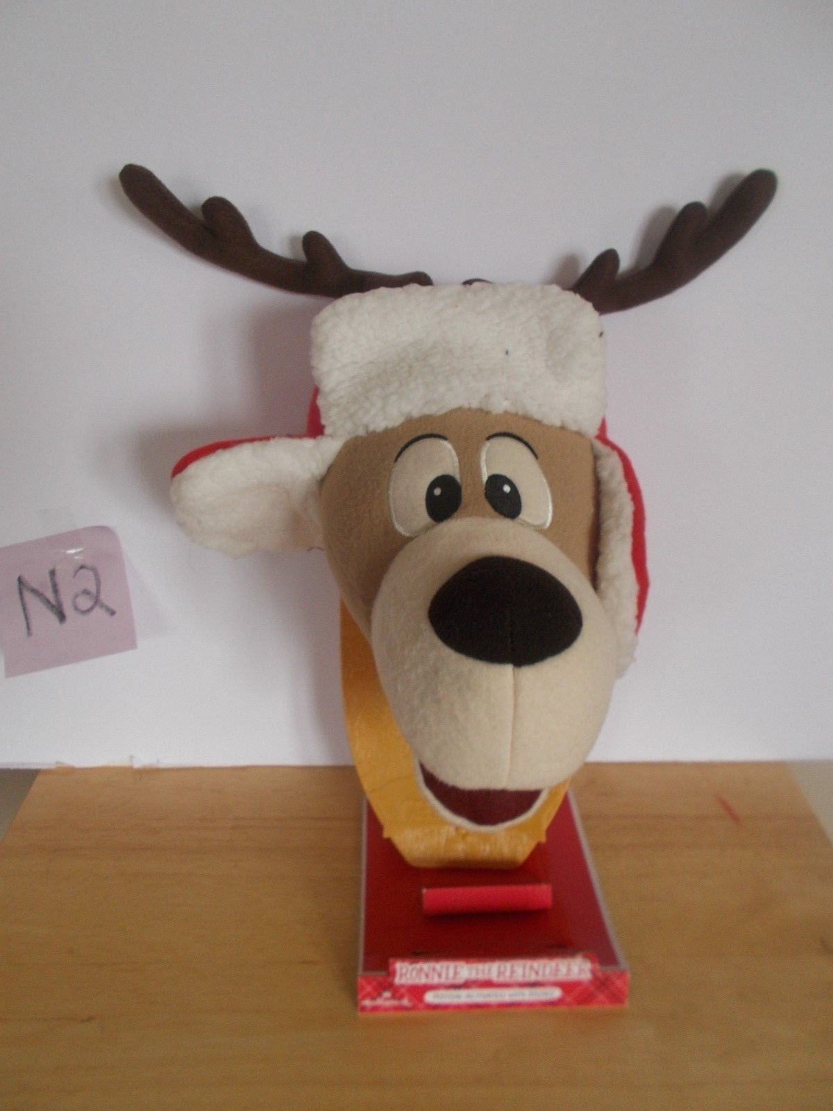 Hallmark Ronnie the REindeer Motion-Activated with Sound
