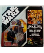 Star Wars 30th Anniversary Coin Album w/Darth Vader figure - $15.88