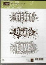 NEW! Stampin Up Seasonally Scattered Stamp Set #135023