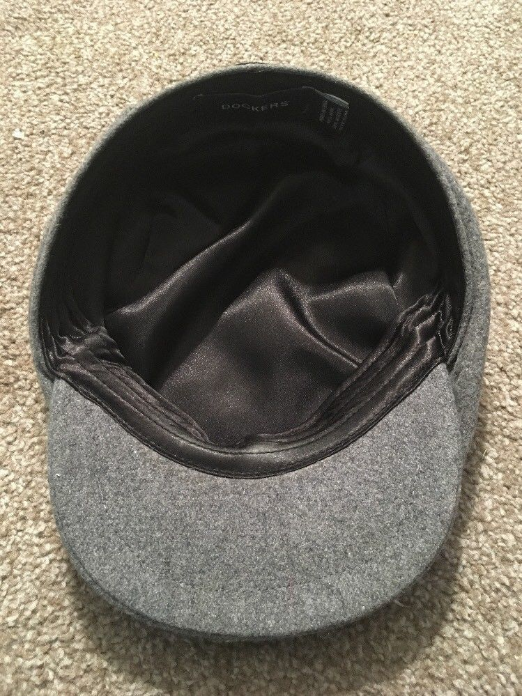 90564aba Docker Newsboy Cabbie Gray Wool Blend Hat, and 50 similar items