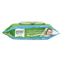 Seventh Generation Wipe Baby Refill Pack of 12 - $76.76