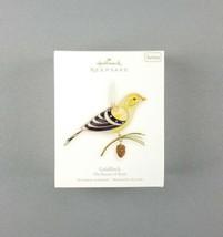 "Hallmark 2008 Keepsake Christmas Ornament ""Goldfinch"" The Beauty of Bird... - $69.29"