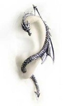 SteamPunk Victorian Alchemy Gothic Dragon's Lure Left Ear Earring, NEW U... - $24.14