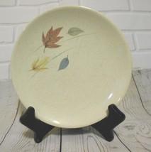 "Vintage Franciscan Earthenware Autumn Leaves 6"" Bread Pie Dessert Plates  USA - $6.32"