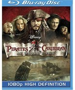 Disney Pirates of the Caribbean: At World's End [Blu-ray] (2007) - $3.71
